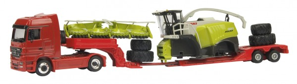 MB Actros V8 + Claas