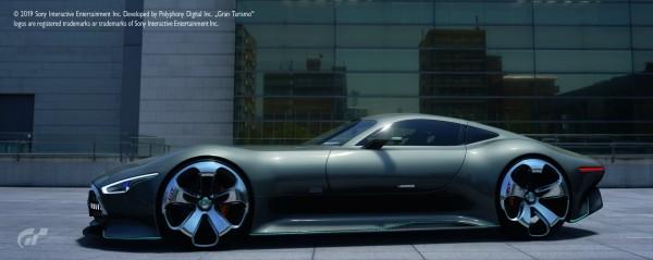 Mercedes-Benz AMG Vision Gran Turismo, dunkelsilber