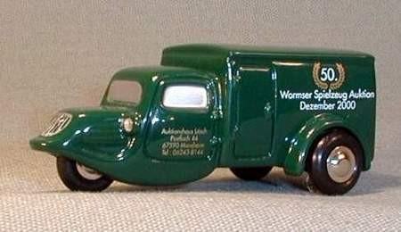 Tempo Dreirad, Wormser Auktionen