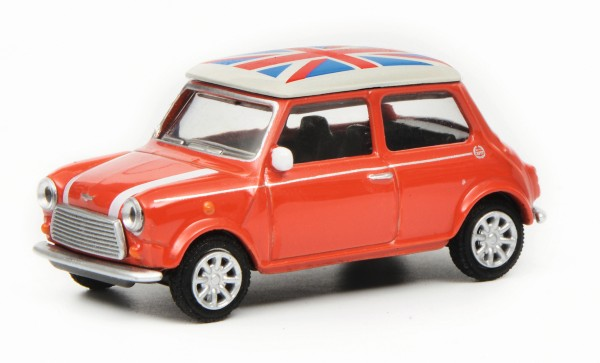 "Mini Cooper ""Union Jack"", rot"