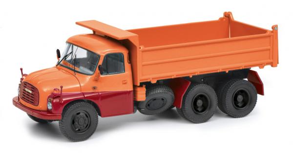 Tatra T148 Muldenkipper, rot/orange