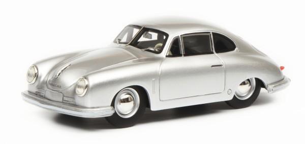 Porsche 356 Gmünd Coupé, silbermetallic
