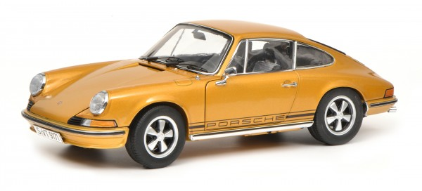 Porsche 911 S Coupé 1973, gold metallic