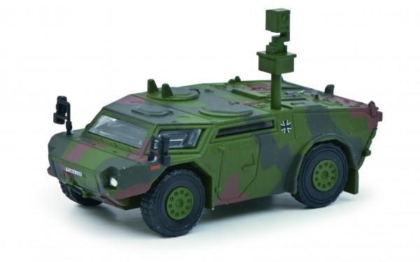 Fennek Panzerspähwagen, flecktarn
