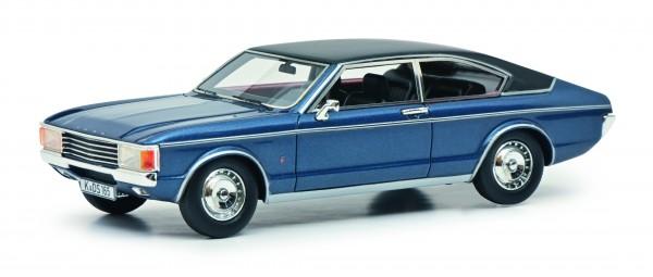 Ford Granada Coupe, blaumetallic