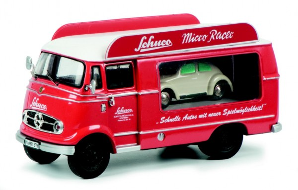 MB L319 Werbewagen mit Micro Racer