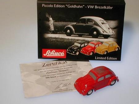 """VW Brezelkäfer """"Sachsen Dreier"""""""
