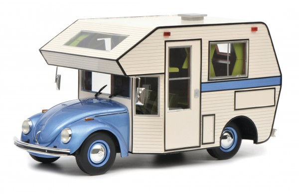 "VW Käfer ""Motorhome"", blau"