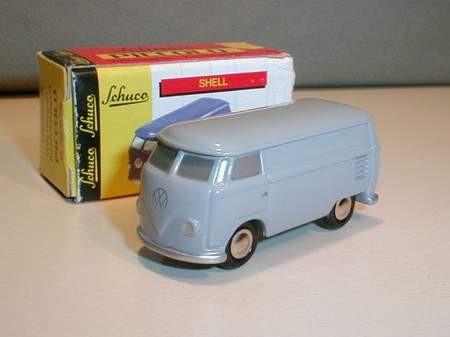 VW T1 Kasten, grau