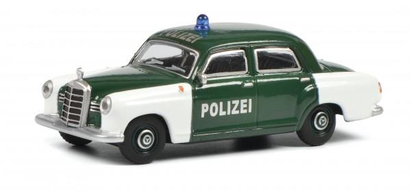 "Mercedes-Benz 180D Ponton ""Polizei"""