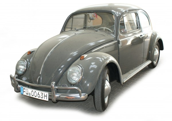 "VW Käfer Limousine ""1963"", grau"