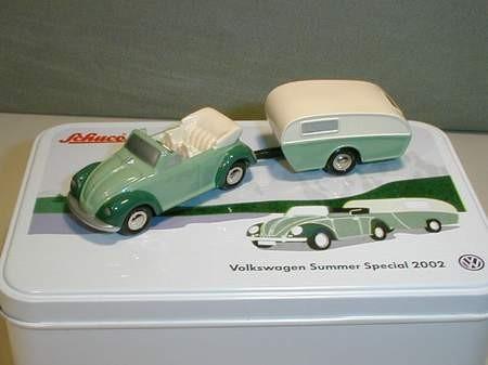VW Summer Special 2002 - Käfer mit Wohnwagen
