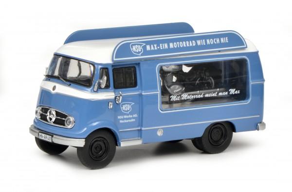 """Mercedes-Benz L319 Werbewagen """"NSU-Max"""" mit Piccolo NSU-Max"""