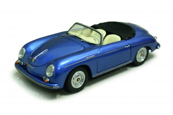 Porsche 356 Speedster, blau metallic