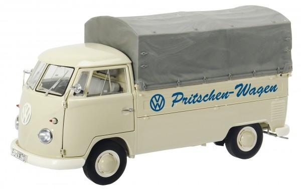 """VW T1b Pritsche mit Plane """"VW Pritschen-Wagen"""", beige"""